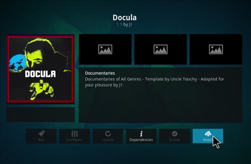 How to Install Docula Kodi 18 Leia Add-on step 18