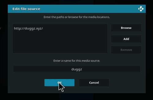 How to Install Duggz All in one Kodi 18 Build Leia step 7