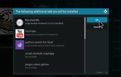 How to Install Golden Age Kodi 18 Leia Add-on step 20