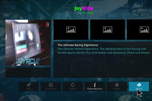 How to Install JoyRide Kodi 18 Leia Add-on step 19