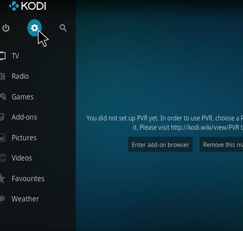 How to Install Kong TV Kodi 18 Leia Add-on step 1
