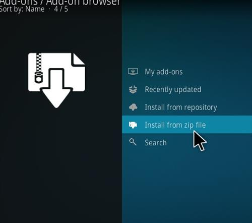 How to Install Kong TV Kodi 18 Leia Add-on step 10
