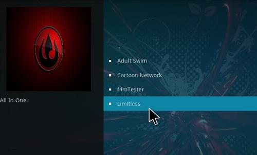 How to Install Limitless Kodi 18 Leia Add-on step 17
