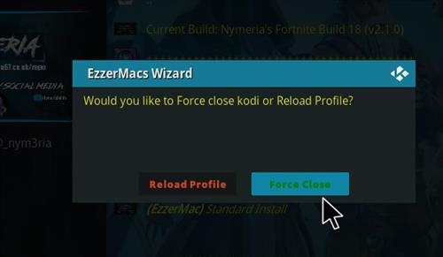 How to Install Nymeria's Fortnite Kodi 18.1 Build Leia step 28