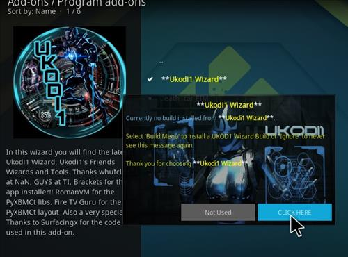 How to Install Phoenix Rising Kodi 18 Build Leia step 22