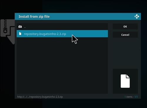 How to Install Release BB Kodi 18 Leia Add-on step 12