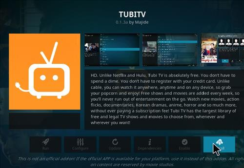 How to Install TUBITV Kodi 18 Leia Add-on step 19