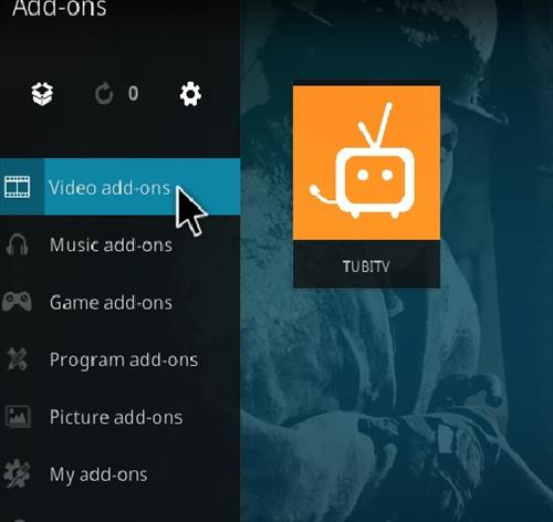 How to Install TUBITV Kodi 18 Leia Add-on step 21