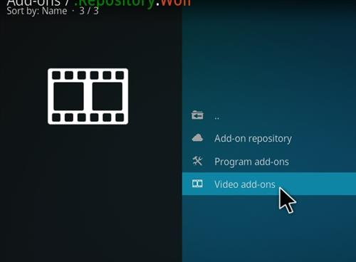 How to Install Wolf Kodi 18 Leia Add-on step 16