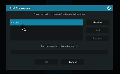 How to Install Duff Light Kodi 18 Build Leia step 4