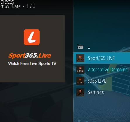 How to Install Sport365 Kodi 18 Leia Add-on pic 2