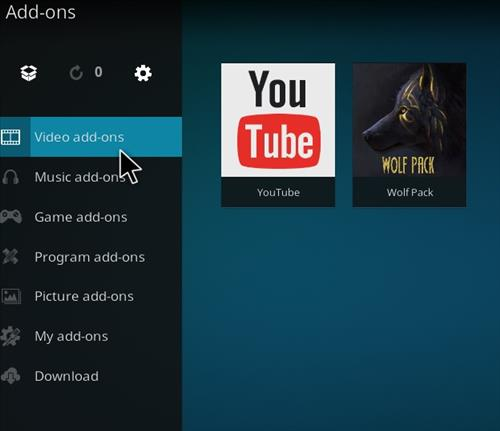 How to Install WolfPack Kodi 18 Leia Add-on step 21