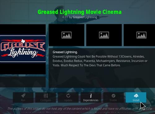 How to Install Greased Lightning Movie Center Kodi 18 Leia Add-on –  Kodi Tutorials