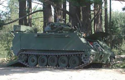 King's Own Calgary Regiment - Vehicles