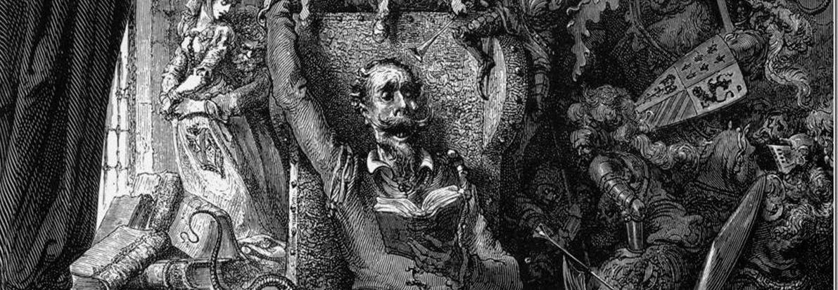 Dom Quixote - Gustave Doré - recorte