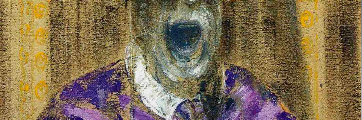 Portrait of Pope Innocent X - Francis Bacon.