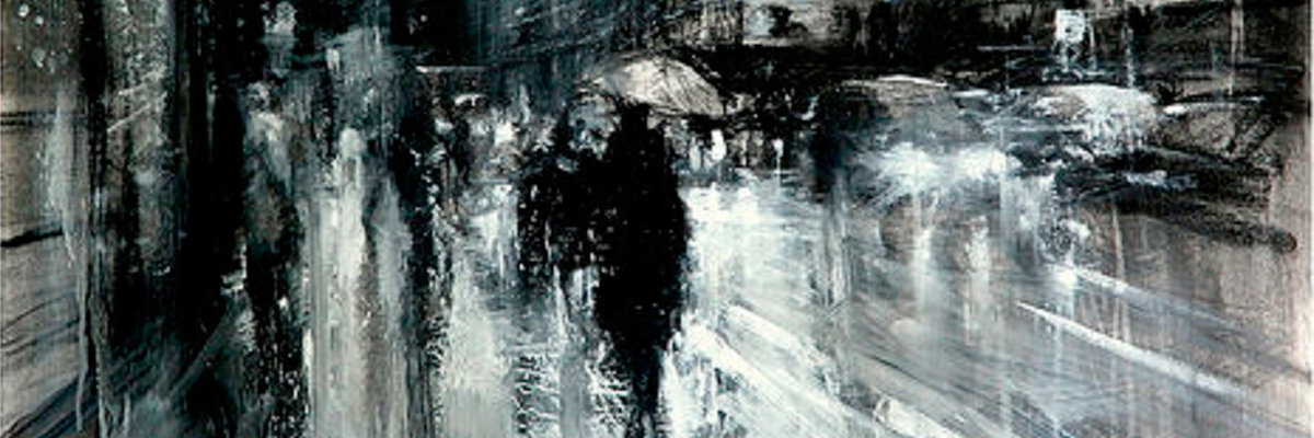Caminhando na Rue des Rennes (autor desconhecido).