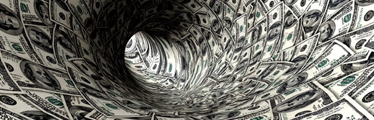 Redemoinho de dólar.