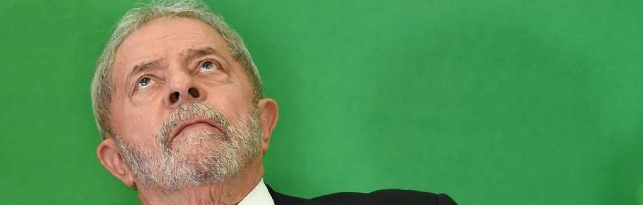 Lula em cerimônia da sua nomeação como Ministro da Casa Civil.