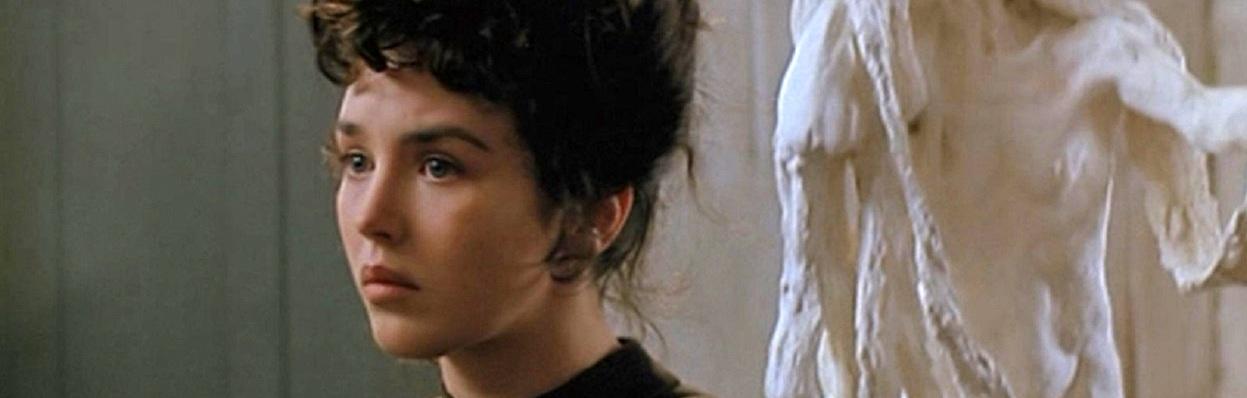 Isabelli Adjani em Camille Claudel (1988) direção de Bruno Nuytten.
