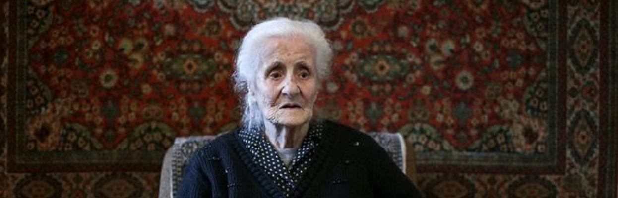 Old Armenian woman.