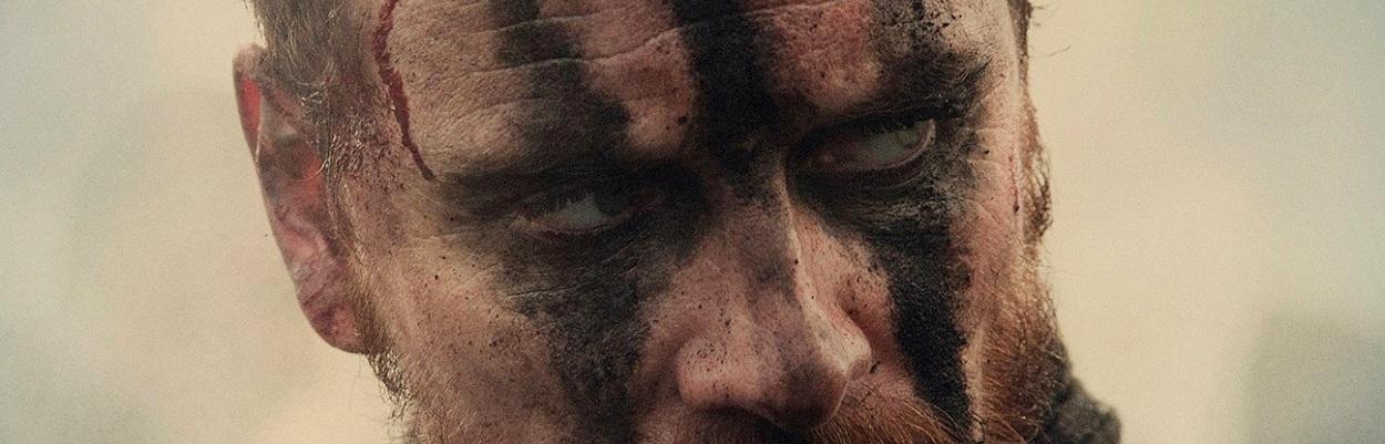 Ator Michael Fassbender  em Macbeth de Justin Kurzel (2015).
