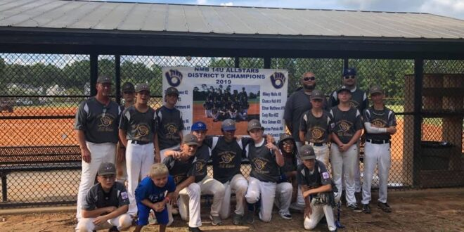 NMB 13-14 All-Stars finish in third place in state Dixie