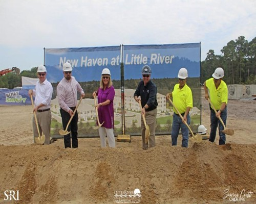 Ground Broke For New Haven At Little River