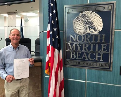 Coyne files for Cherry Grove Council seat