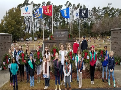 Mission of Wreaths Across America is to remember our fallen heroes