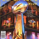 New Orleans Spice Brass Band on the 2013 Super Bowl Program and Ticket