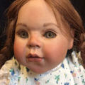 "-23"" GROESSLE-SCHMIDT PORCELAIN LIMITED EDITION DOLL-"