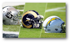 Rams, Chargers, and Raiders Relocate to LA