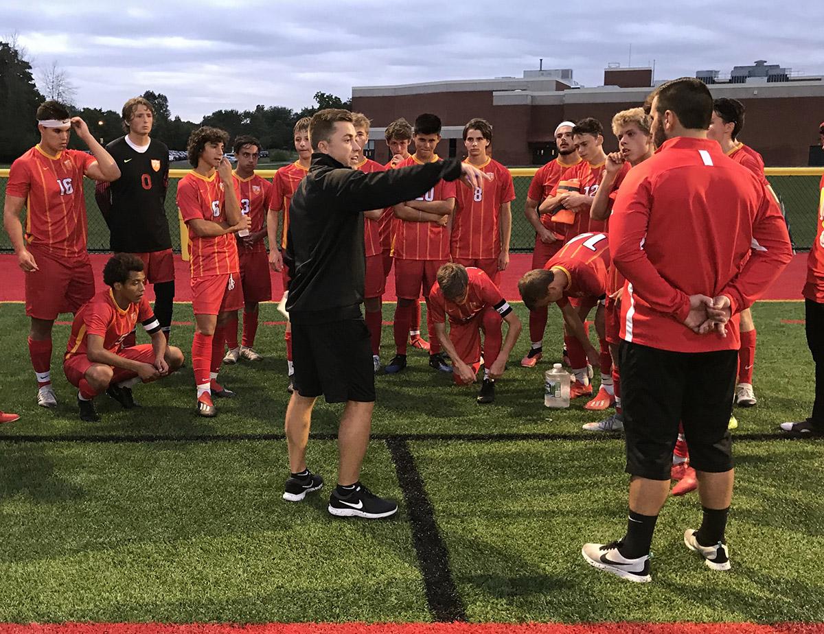 Sophomore Goalkeeper Shines in Start of Schiappa Soccer Era