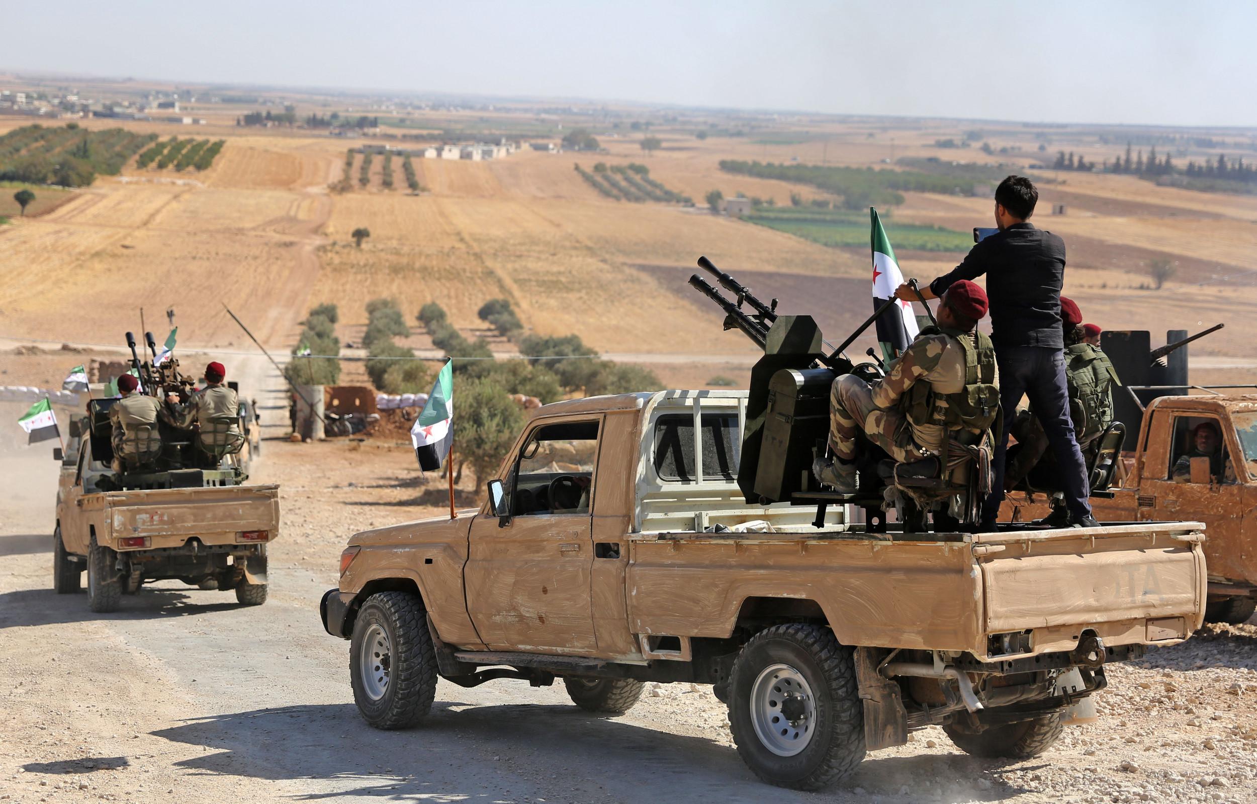 Update: Turkey invades Syria
