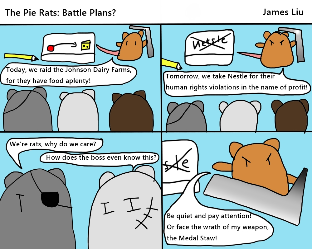 """The Pie Rats: """"Battle Plans"""""""