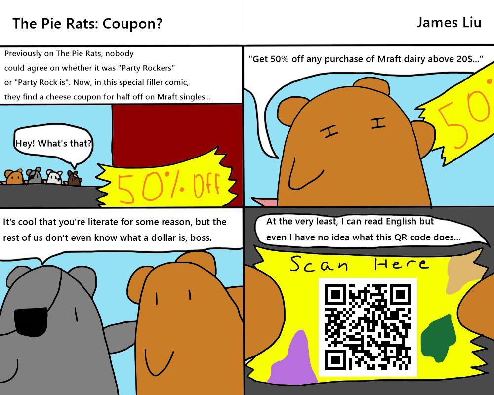 The Pie Rats: Coupon?