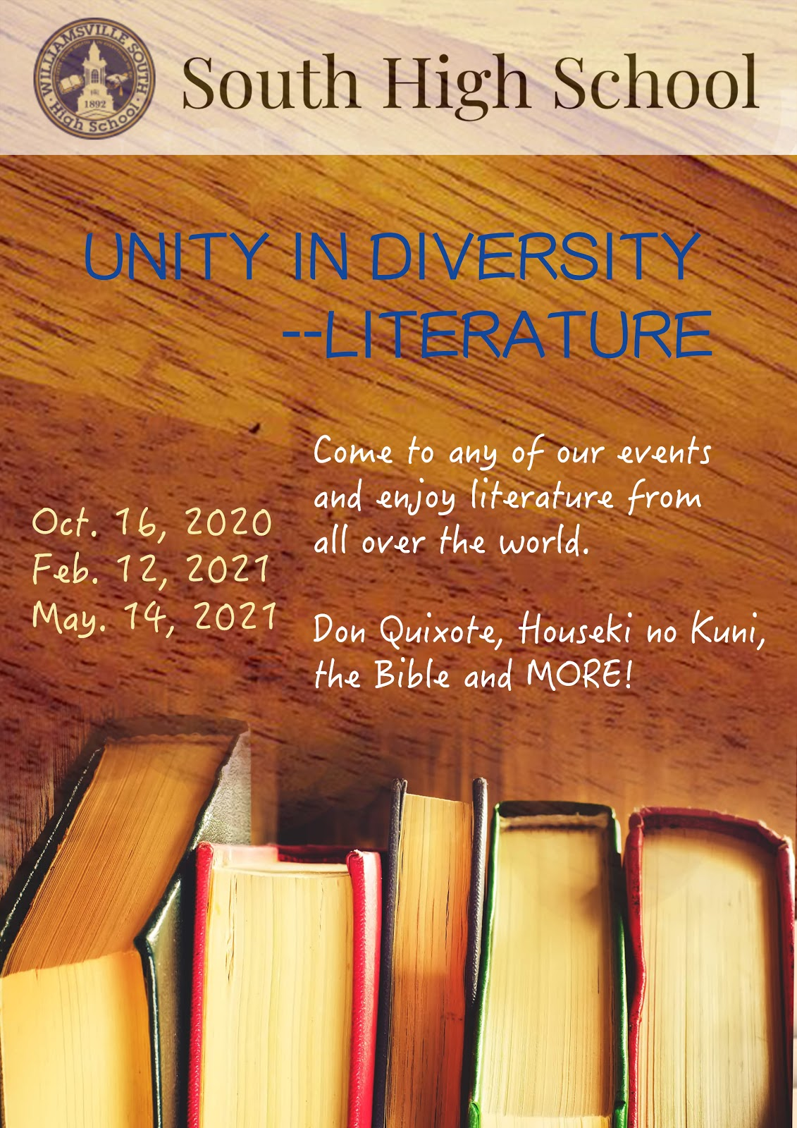 APRIL FOOLS – North and South to start Unity in Diversity clubs