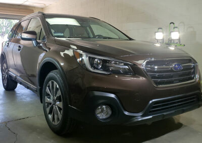 2019 Subaru Outback with 5-Year Aviation grade Ceramic Coating