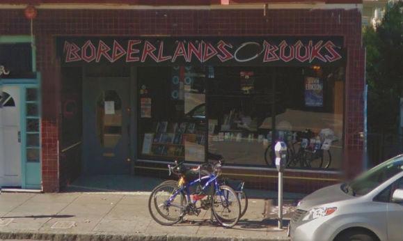 Borderlands Books, San Francisco CA