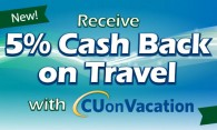 Graphic about cash back on travel