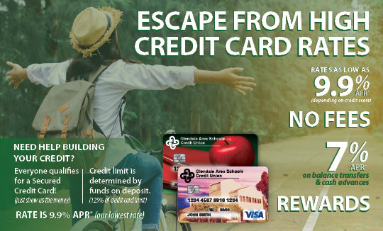 Escape from High Credit Card Rates