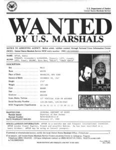 Eddie Antar Wanted Poster