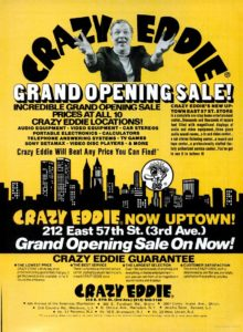 Crazy Eddie Advertising