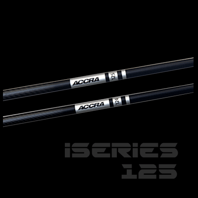 """<h3>iSeries 125 Irons</h3> The iSeries 125 is a unique combination of weight, feel, stability and performance <br><br> <a href=""""/iseries-125-iron-shafts/"""" class=""""myButton"""">more..</a>"""