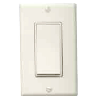 Decora Rocker Wall Switch & Plate – White-DSWW