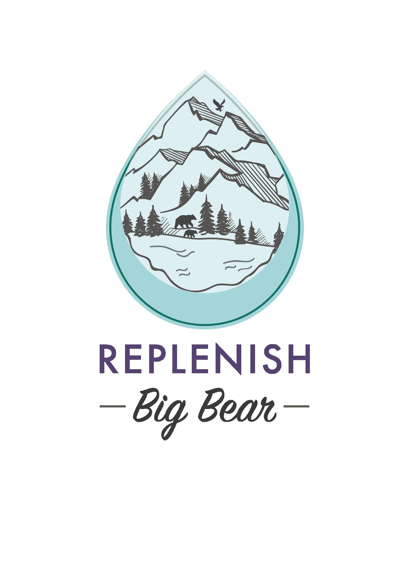 Replenish Big Bear Raindrop with Mountains