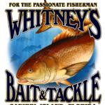 whitney's bait and tackle logo