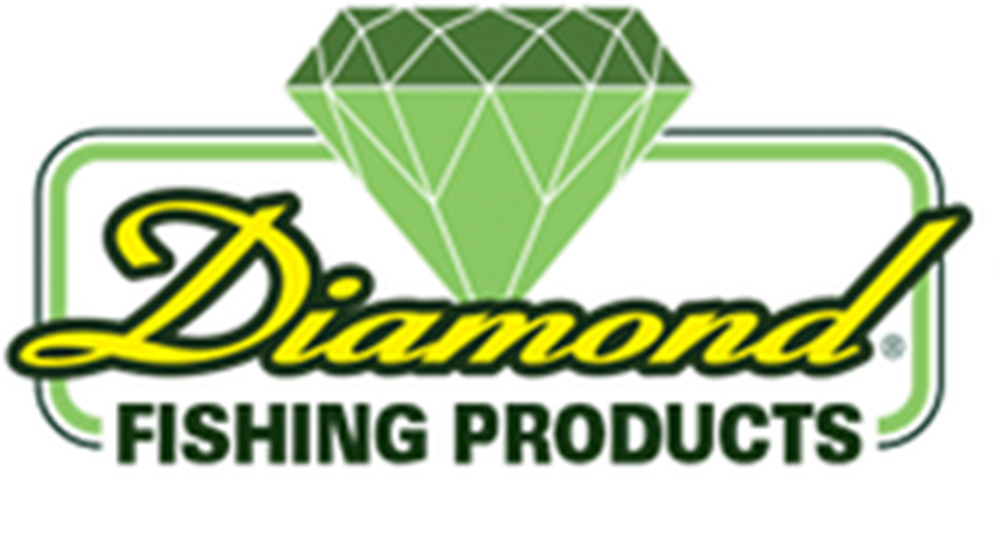 diamond fishing line logo