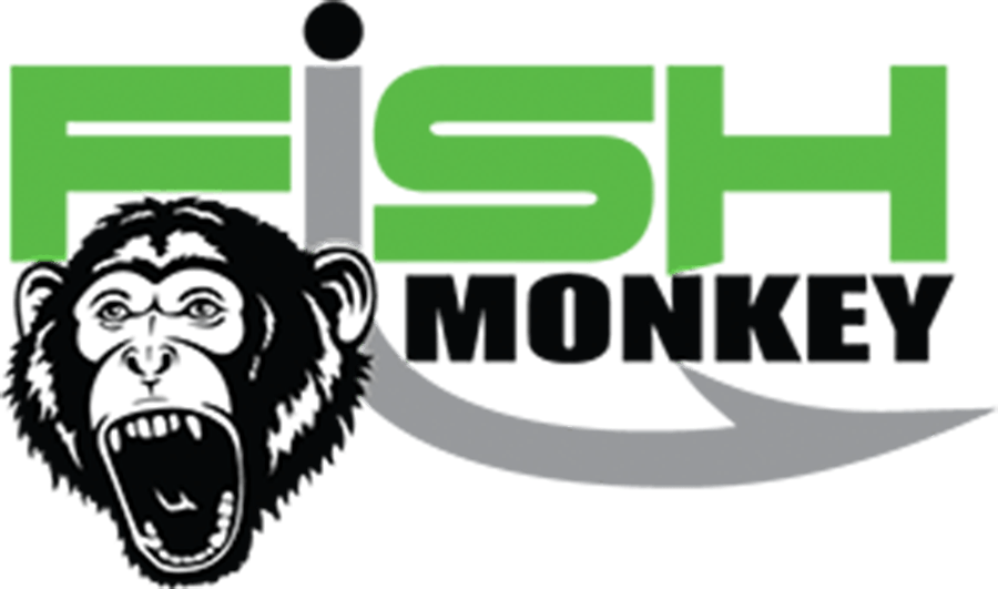 fish monkey logo